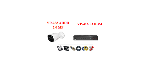 Camera Vantech AHDH 2.0mp (Trọn bộ 1 camera)